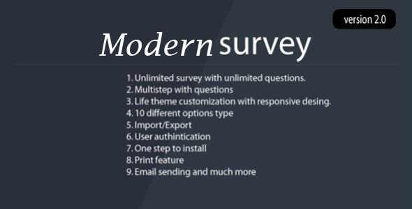 Modern Survey