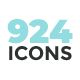 My Icons. 924 Pixel Perfect Icon Collection - GraphicRiver Item for Sale