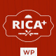 Rica - A Delicious Restaurant & Pub WP Theme - ThemeForest Item for Sale