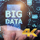 Businessman Open Hand Big Data (4K) - VideoHive Item for Sale