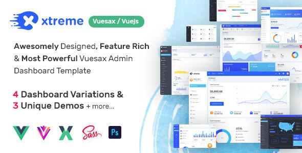 Xtreme Vuesax Admin Template