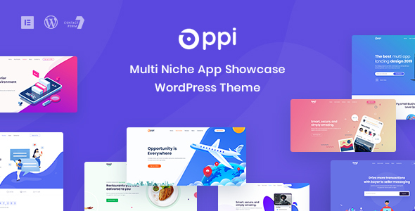Oppi - Multi-Niche App Showcase WordPress Theme