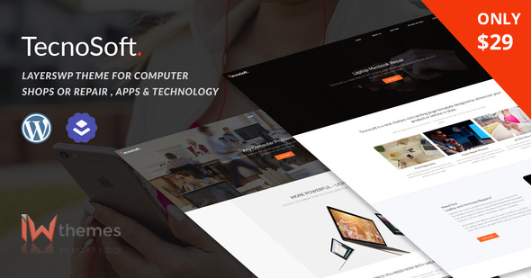 Computer & Phone Repair, Technology WordPress theme  | TecnoSoft