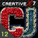 CreativeX7 - 12 Photoshop Fabric Styles - GraphicRiver Item for Sale