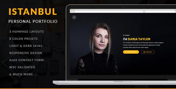 Istanbul - Personal Portfolio