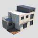 Modern Brick House - 3DOcean Item for Sale