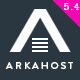 ArkaHost - WHMCS WordPress Theme - ThemeForest Item for Sale