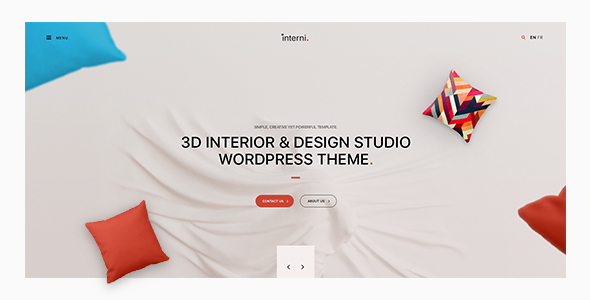 Interni - 3D Interior & Design Studio WordPress Theme 2