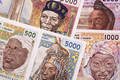 Old West African States money a business background - PhotoDune Item for Sale