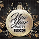 Nye Party New Year Flyer - GraphicRiver Item for Sale