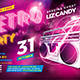 Retro Party Flyer vol.1 - GraphicRiver Item for Sale