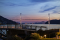 View of Megami Ohashi bridge from Nagasaki Seaside Park - PhotoDune Item for Sale