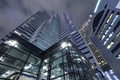Modern architecture. Modern steel and glass skyscrapers in Tokyo - PhotoDune Item for Sale