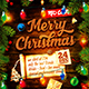 Christmas Celebration Square Flyer vol.1 - GraphicRiver Item for Sale