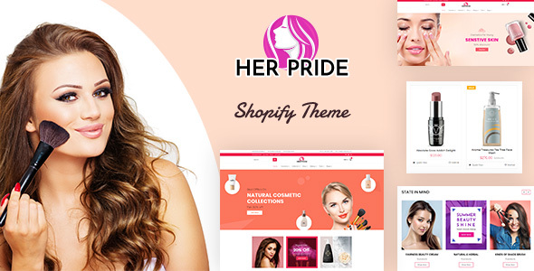 HerPride - Skin Care Shop Shopify store Theme