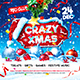 Christmas Celebration Square Flyer vol.2 - GraphicRiver Item for Sale