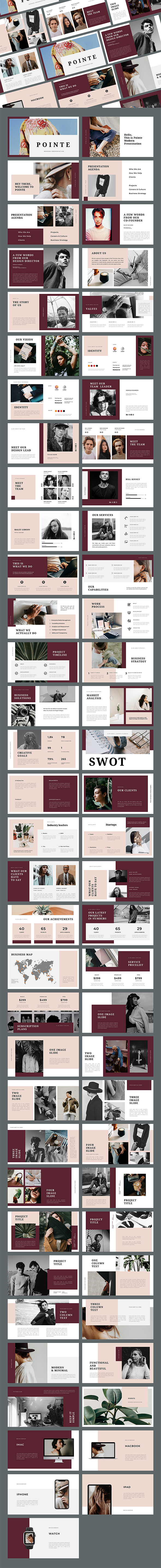 Pointe - Business PowerPoint Template
