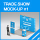 Trade Show Booth Mock-up v1 - GraphicRiver Item for Sale
