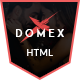 Domex - Night Club HTML Template - ThemeForest Item for Sale