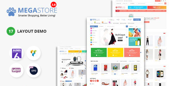 Mega Marketplace Store RTL Responsive WooCommerce WordPress Theme