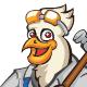 Bird Mechanic Mascot - GraphicRiver Item for Sale