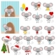 Mouse Vector Set - GraphicRiver Item for Sale