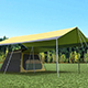 Basic Camping Tent - 3DOcean Item for Sale