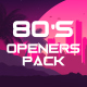 1980s Logo Reveal Pack - VideoHive Item for Sale