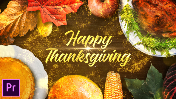 Thanksgiving Wishes – Premiere Pro