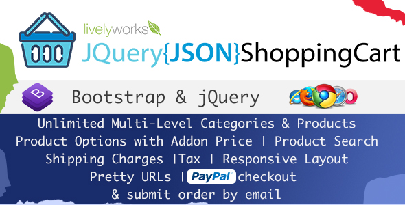 JQuery JSON Shopping Cart - Store - Shop