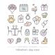 Valentine Icon Set - GraphicRiver Item for Sale