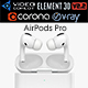 Apple AirPods Pro - 3DOcean Item for Sale