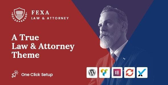 Fexa- Lawyer & Attorney WordPress Theme