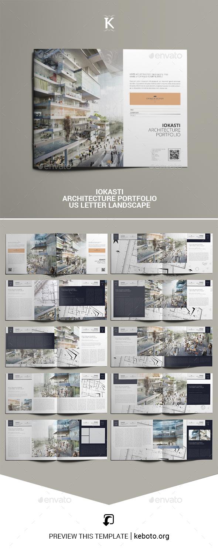 Architecture Portfolio Graphics, Designs & Templates