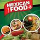 Mexican Restaurant Menu Flyer  - GraphicRiver Item for Sale