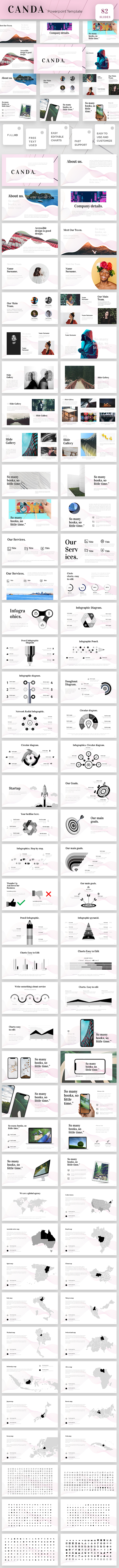Canda Powerpoint Presentation Template