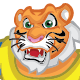 Tiger Athlete - GraphicRiver Item for Sale