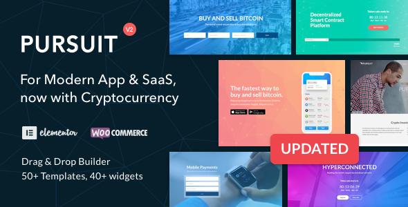 Pursuit - A Flexible App & Cloud Software Theme