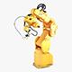 Generic Industrial Robot v 1 - 3DOcean Item for Sale
