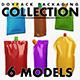 DoyPack Packaging collection volume 1 - 3DOcean Item for Sale