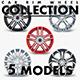 Car Rim Wheel Collection volume 3 - 3DOcean Item for Sale
