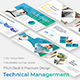 3 in 1 Technical Management Creative and Business Bundle Keynote Pitch Deck Template - GraphicRiver Item for Sale