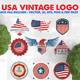 10 USA Vintage Badges Logo - GraphicRiver Item for Sale