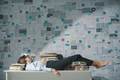 Exhausted business executive sleeping in the office - PhotoDune Item for Sale