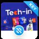Tech-in Creative Digital Startup Agency Keynote Template