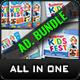 Kids Summer Camp Advertising Bundle - GraphicRiver Item for Sale
