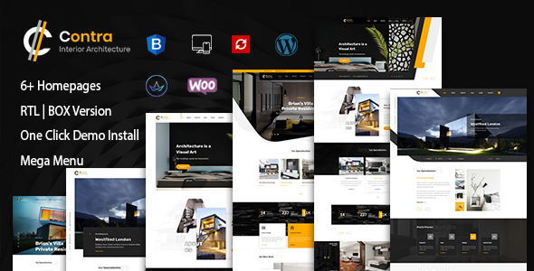 Contra | Architecture And Interior WordPress Theme