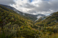 Wooded Valleys wake up between Fog Shreds - PhotoDune Item for Sale