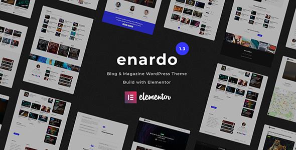 Enardo - Blog & Magazine WordPress Theme
