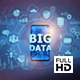 Big Data On Mobile Phone - Center (FULL HD) - VideoHive Item for Sale